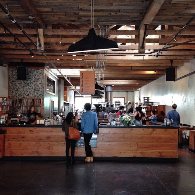 Foto de Four Barrel Coffee en Mission District