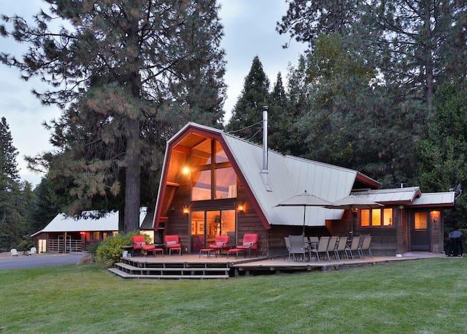 Bodhana Shasta--The Perfect Mountain Getaway!