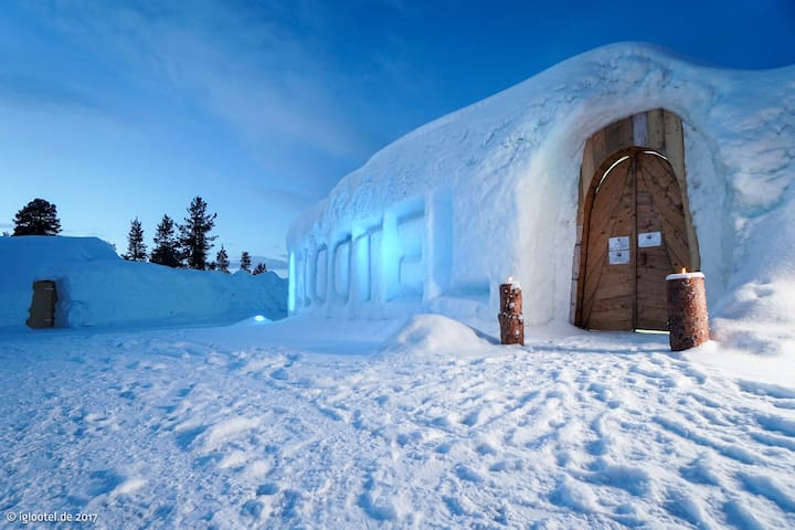 IGLOOTEL Lapland - more than a normal hotel!