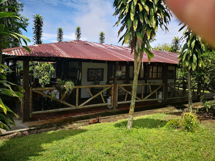 Rustic cottage/memorable experience eco-farm stay.