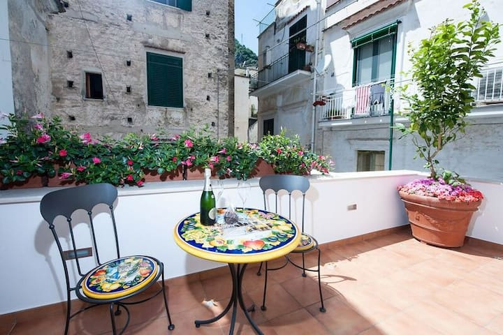 Casa Amore, in the heart of Amalfi