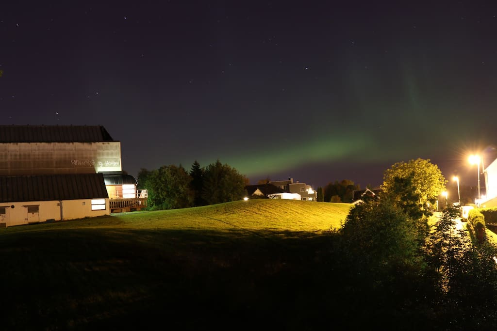 Likely to see northern light nearby during winter!