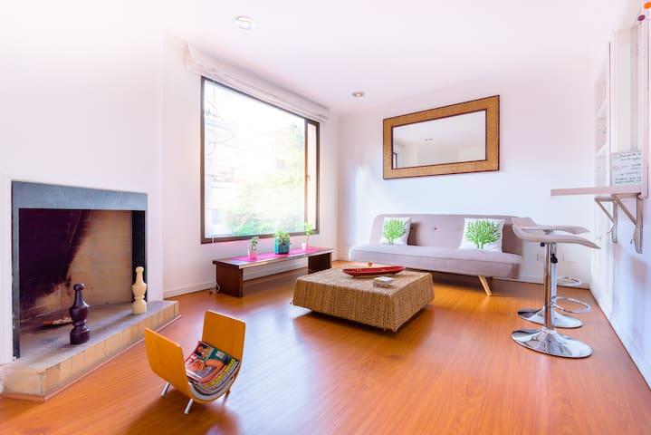 cozy apartment 93 park exclusive - Bogotá