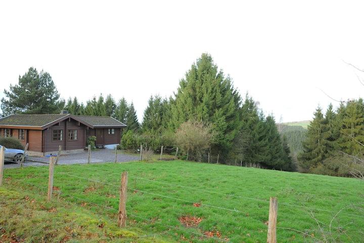 Moderna Casa de vacaciones en Beffe con sauna
