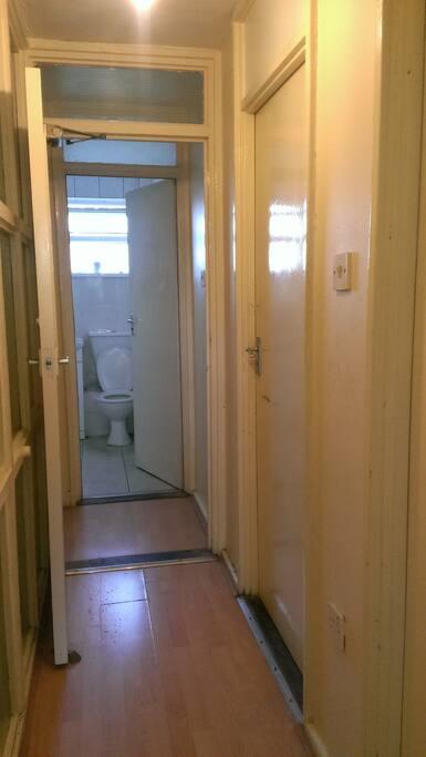 Bathroom shared with 3 mates