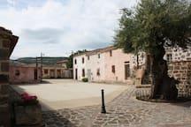 Piazza Sant' Isidoro -Allai-