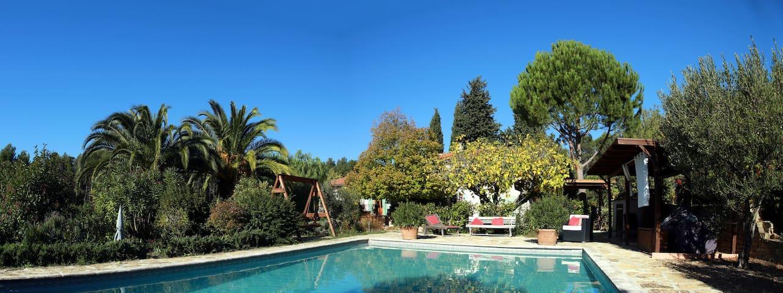 Chambre avec jardin et piscine dans les vignes - Le Castellet - Pensió