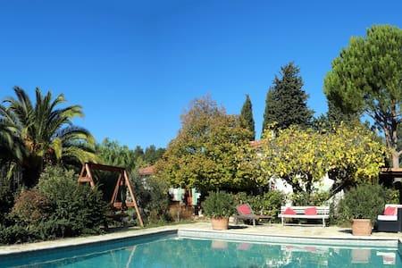Chambre avec jardin et piscine dans les vignes - Le Castellet