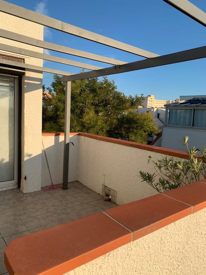 Appartement avec terrasse ☀️
