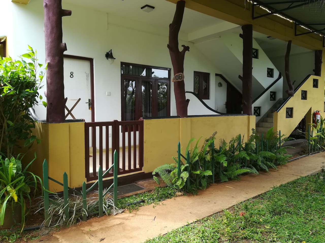 Deluxe Triple room Outside View