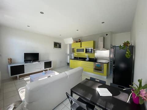 Appartement cosy bien placé à 25 minutes de Lille