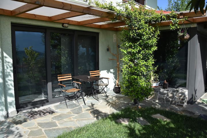 Sunny studio with great view and yard. - Ioannina