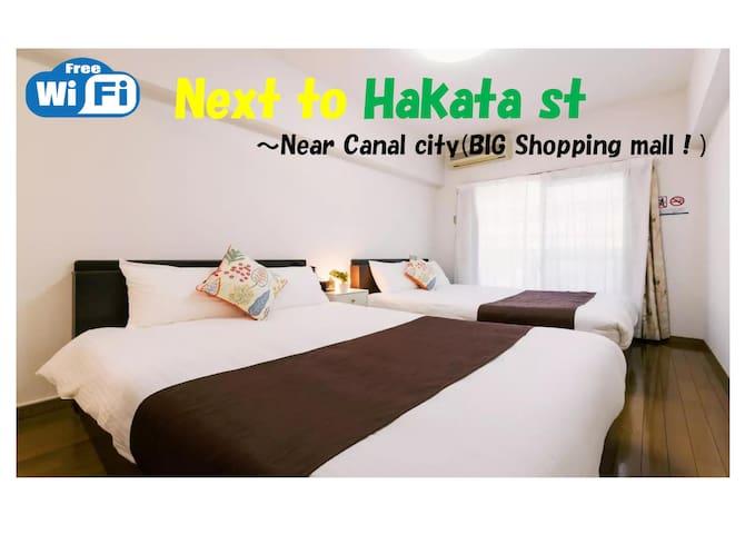 (G902) 8minwalk Canalcity/EASYaccess Hakata&Tenjin