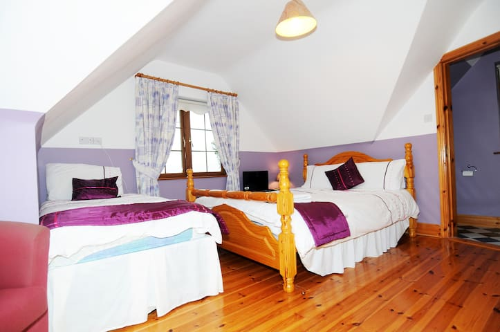 Rose of Tralee suite super comfortable and relaxing. Families welcome