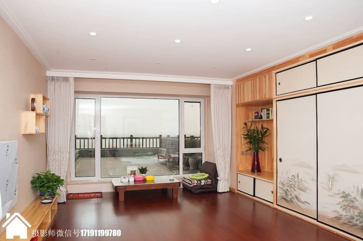J-style Apartment with Hotspring,YaluRiver日式江景温泉公寓