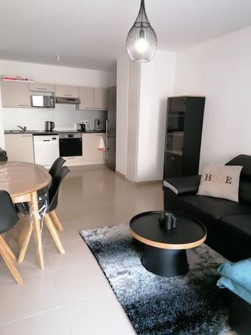 Appartement neuf 3 pieces à 5 munites de la Mer