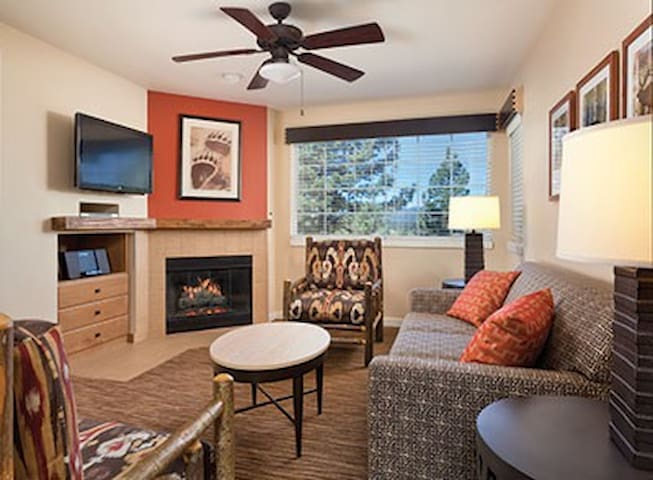 1 Bed/1 Bath Wyndham 5★ Big Bear Condo - Sleeps 4 - Lac Big Bear - Appartement