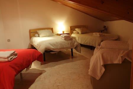 Habitació Quàdruple amb bany compartit a Vilaller - Vilaller