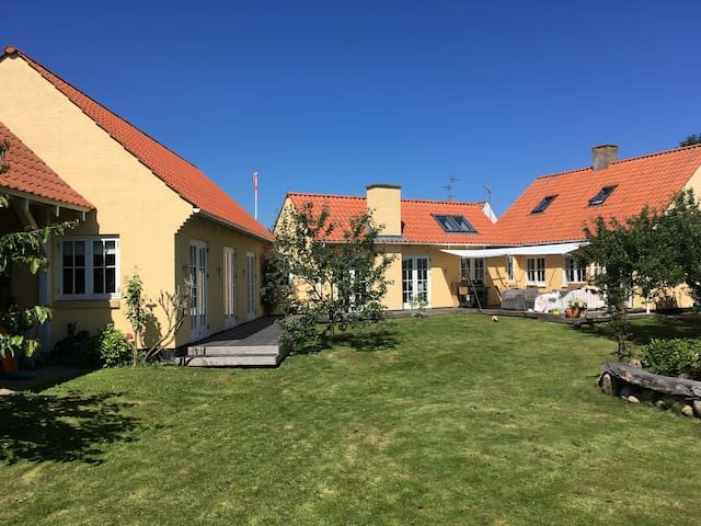 Beautiful spacious house in the heart of Gilleleje