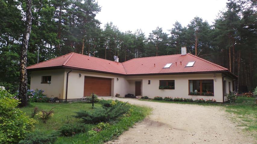 Twórczy Domek, spokojny dom w lesie, zapraszamy ;) - Radzymin - บ้าน