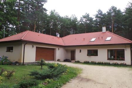Twórczy Domek, spokojny dom w lesie, zapraszamy ;) - Radzymin - Ev