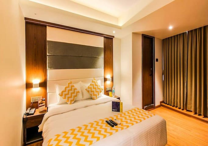Spacious Double Bed ,The Pacific Hotel ,Andheri