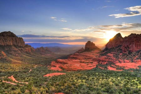 Enjoy the Sedona red rock views