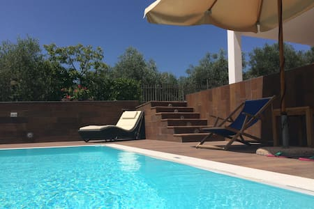 Apartment in a villa whit pool - Agropoli
