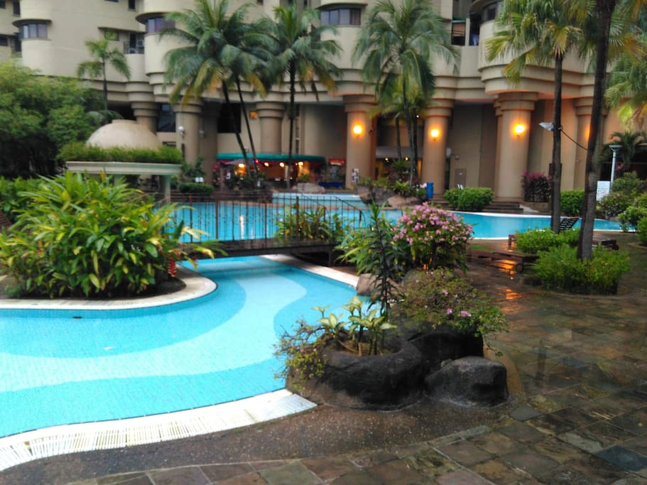The Condo Swimming Pool