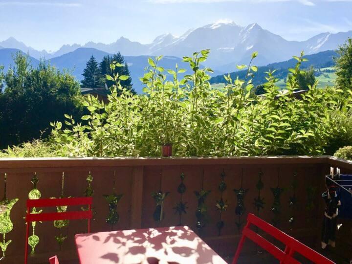 Combloux  T3  Face au Mont Blanc
