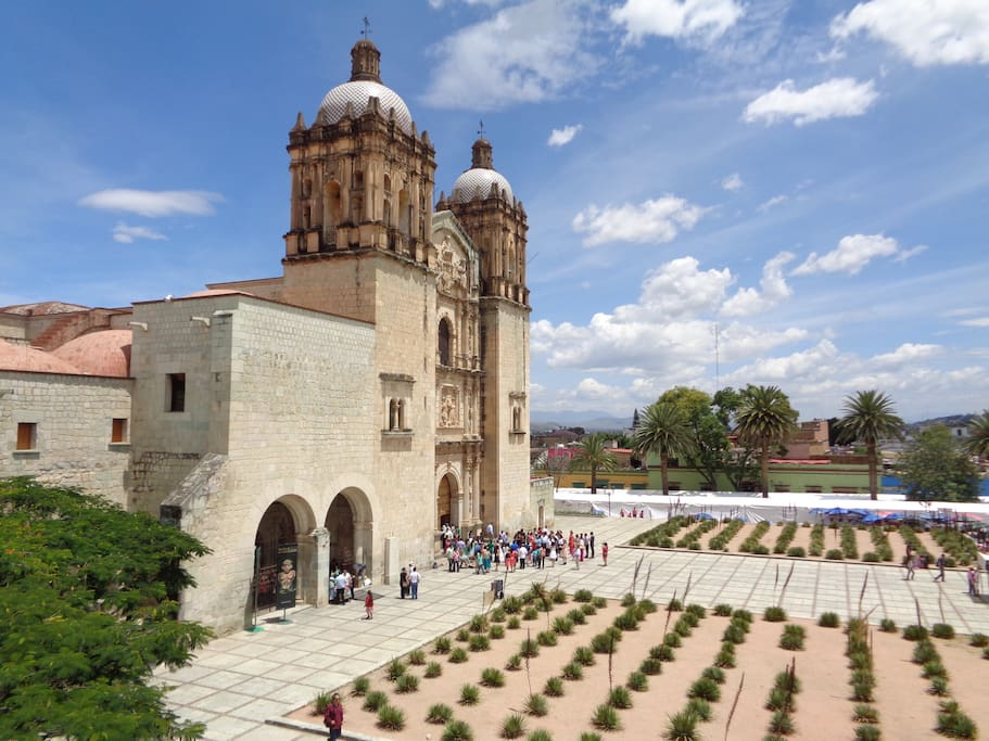 Historic Santo Domingo church and museum, a 10 minute walk.