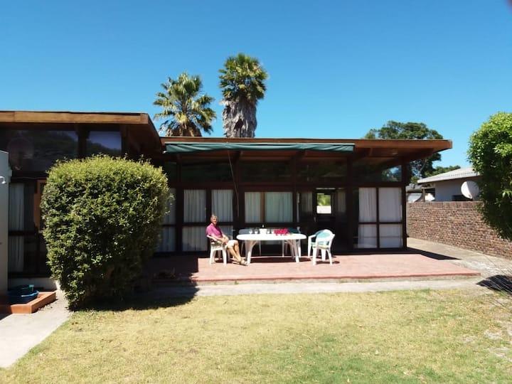 Rustic beach bungalow