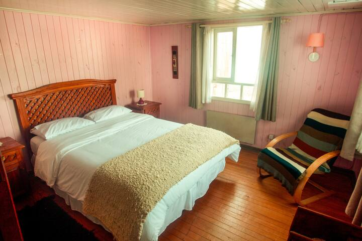 Casa Chilota B&B-Habitación Doble vista al mar
