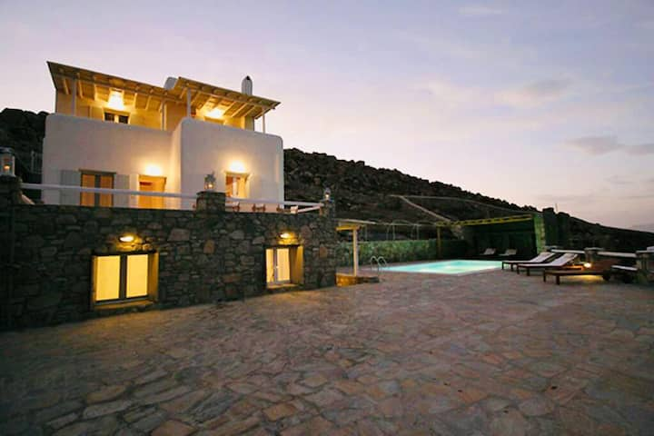 Villa Miglia Kanalia Mykonos - 6bd/private pool