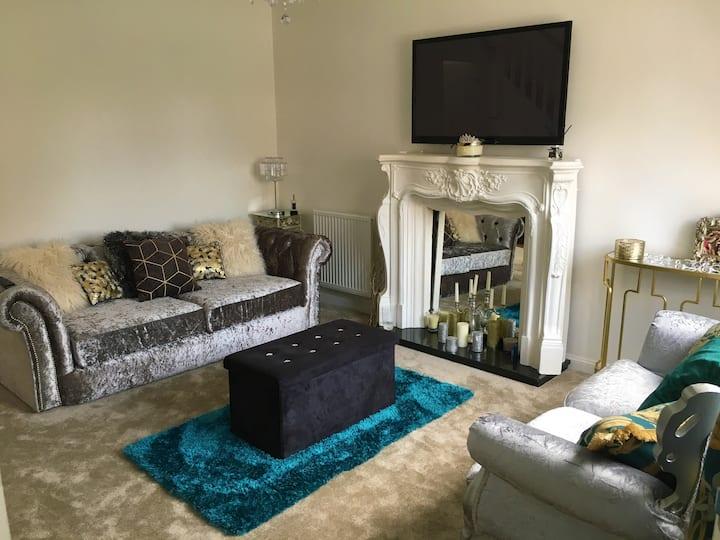 Luxurious modern Newcastle City edge house
