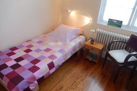 Chambre 1 personne Bayeux Centre, au calme - Haus