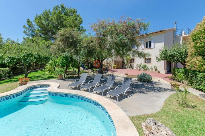 YourHouse Ses Rotgetes - chalet with private pool in the Tramuntana