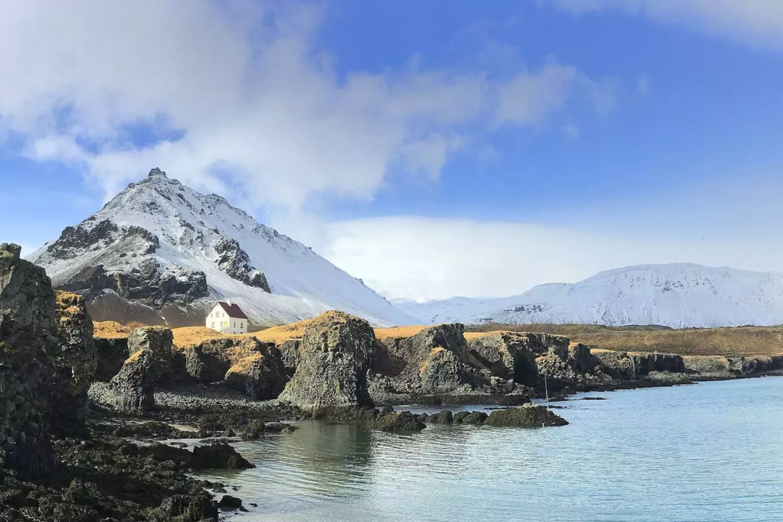 Arnarstapi - Beautiful place under Snæfellsjökull glacier