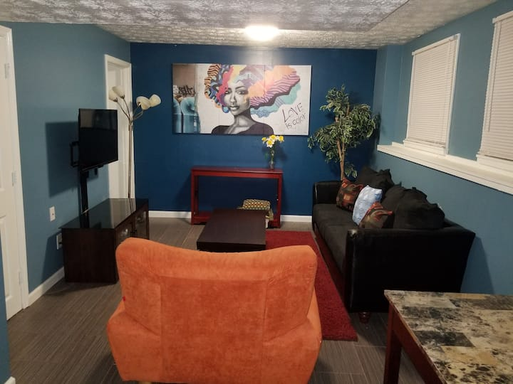 Newly Decorated One Bedroom Basement Suite...
