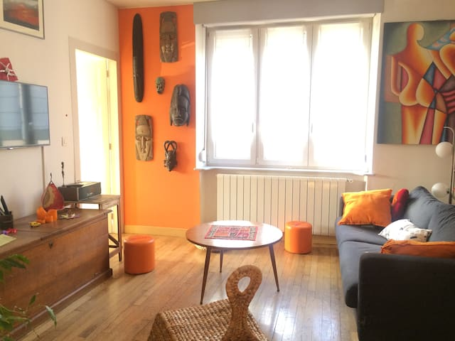 chambre dans appartement - Nancy - Leilighet