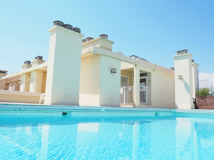 Nice Promenade des Anglais Studio piscine