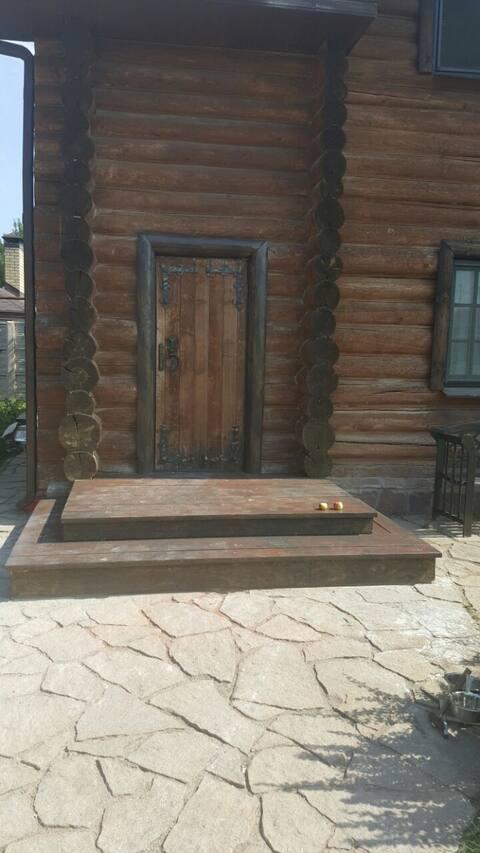 Dream Home, домик для отдыха с русской баней.