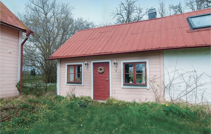 Beautiful home in Romakloster with Sauna, WiFi and 1 Bedrooms