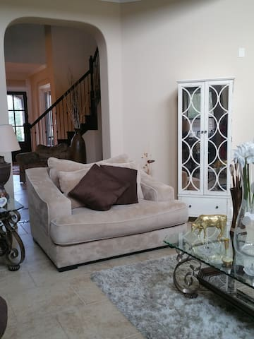 Charming private room in gated community in Katy - Katy - House