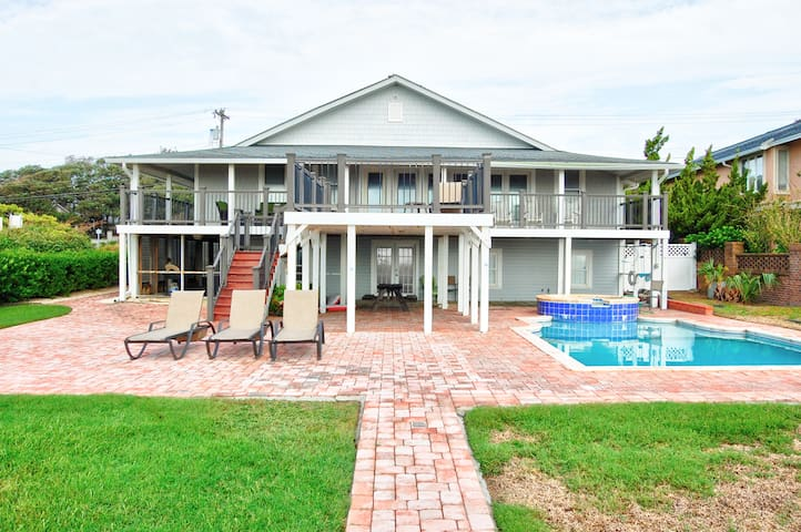 Atlantic Oceans Charm Stunning oceanfront home with a private pool and magnificent views of the Atlantic!