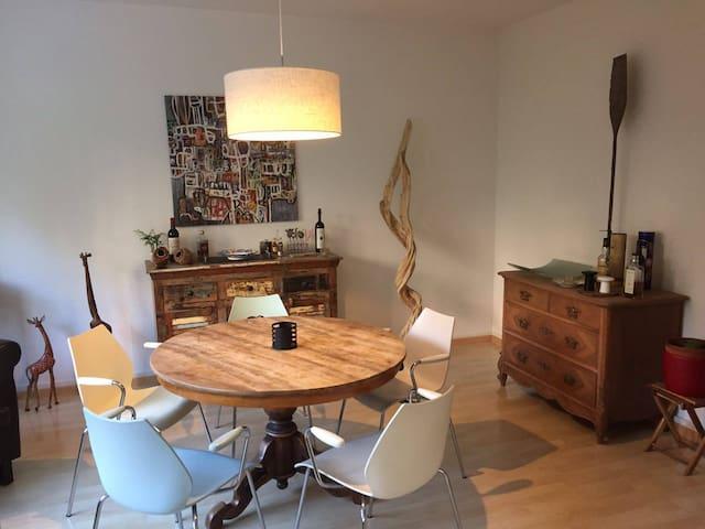 Möblierte 3,5 Zimmer Wohnung im Kreis 2 ab sofort - Zürich - Appartement