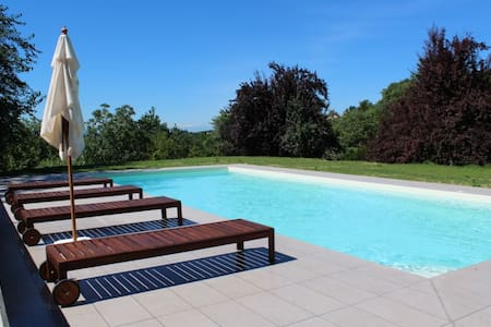 Piedmontese country home with pool - Portacomaro - 獨棟