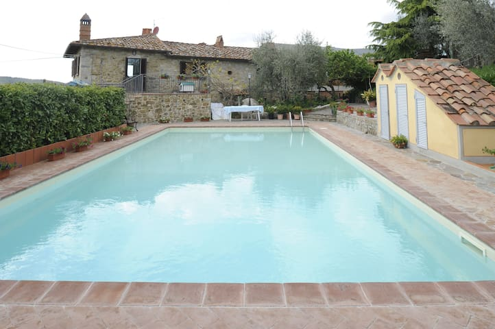 Maccheroni House with panoramic pool