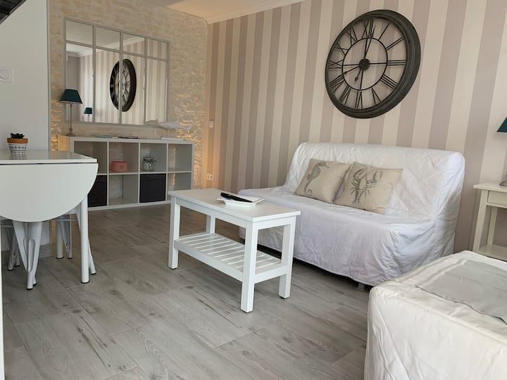 🏖 Studio La Rochelle quartier des Minimes (plage)
