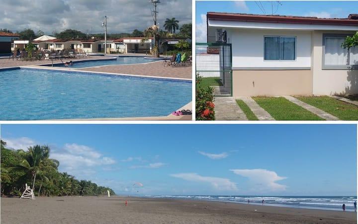 Beach house in condominum, Bejuco, Costa Rica